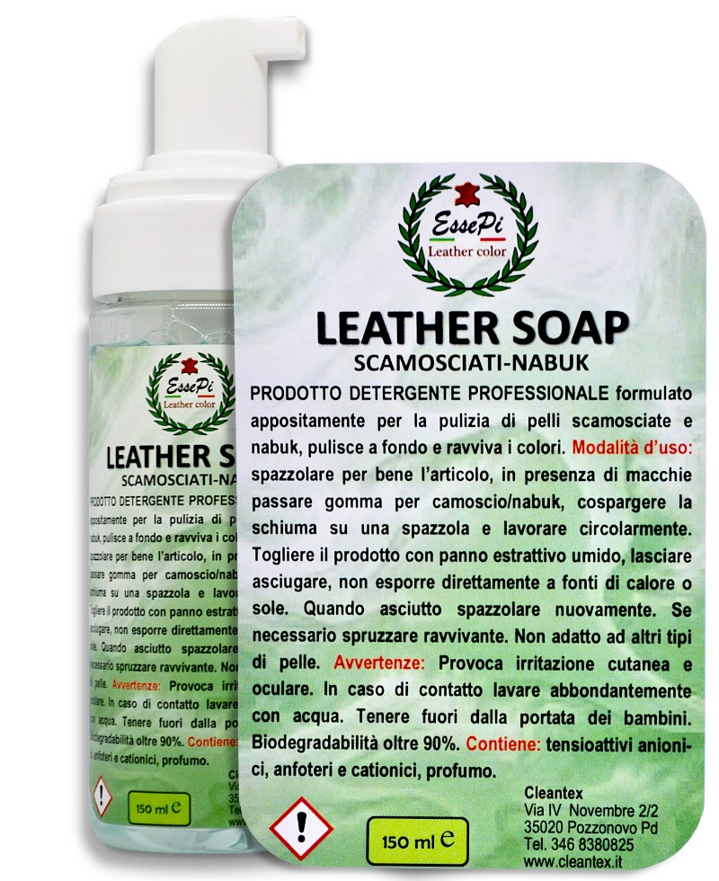 leather-soap